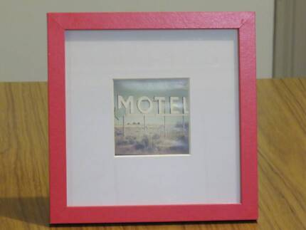 Typo red photo frame Richmond Yarra Area Preview