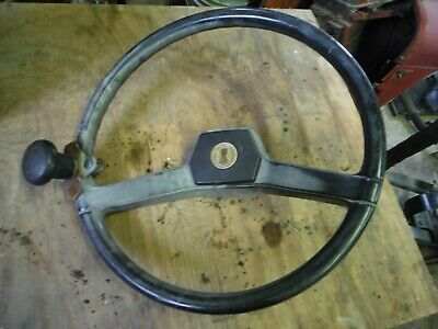 Case Ih 255 Tractor Steering Wheel Nice Shape W Center Cover 64