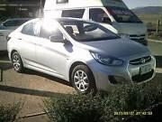 2012 Hyundai Accent Sedan Launceston Launceston Area Preview