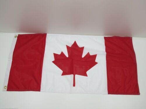 17 inch x 36 inch Canada Nylon Signal Flag Pennant -(C2.5B425)