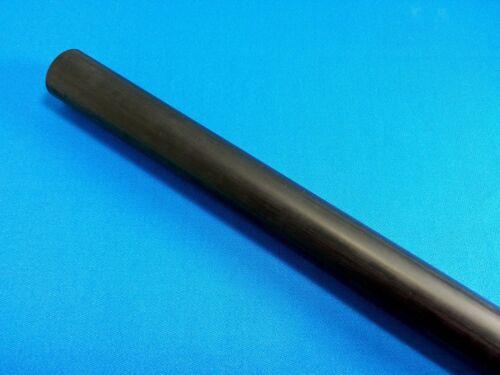 """1 Pc. 12"""" Double Black Linen Phenolic Micarta .562"""" Diameter Rod Pool Ferrule"""