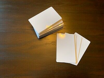 50ea Refrigerator Magnets Gloss White Aluminum Sublimation Blanks
