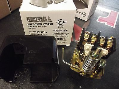 Merrill 3050 Low Volume Pressure Switch For Water Well