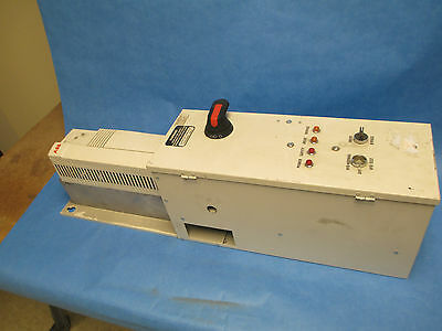 Abb Ac Drive With Bypass Ach401600922 10hp Used