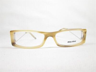 MIU MIU VMU12E 7AT-1O1 50/15 135 China Designer Eyeglass Frames (Miu Miu Kids)
