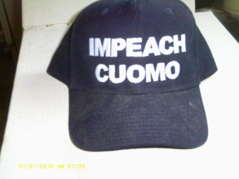 IMPEACH COUMO BASEBALL HAT !!