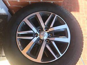 4x genuine 2016 Toyota Hilux sr5 wheels Blacktown Blacktown Area Preview