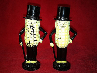 Vintage Planters Mr. Peanuts Salt & Pepper Shakers