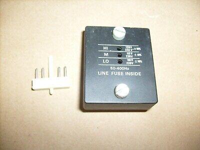 Tektronix 475 Portable Oscilloscope - Line Fuse Inside Cover With Fuse