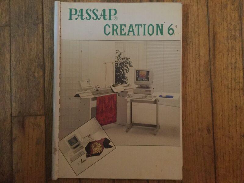 Vtg Passap Creation 6 Book