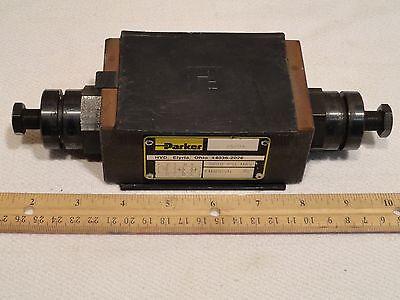 Parker Hydraulic Flow Control Valve Fm3ddsn-50 Fm3ddsn50 5000psi