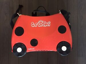 Trunki Ride(bag) On Suitcase for kinds in very good condition