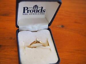 Unwanted 18ct Yellow Gold Engagement Ring Broadview Port Adelaide Area Preview