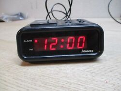 Advance Alarm Clock - Used but Works - Time, Snooze, Alarm