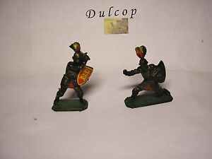 Soldatini Toy Soldiers Dulcop Italy Medievali plastica scala 1:32