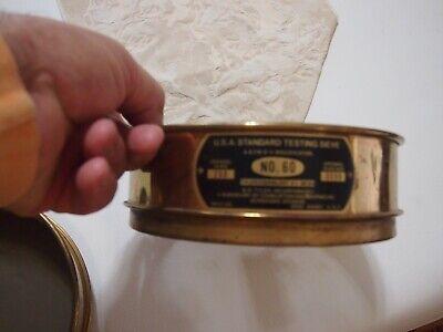U.s. Standard Testing Sieve Soiltest Inc. 250 Um Aperture Mesh 60 Astm E-11