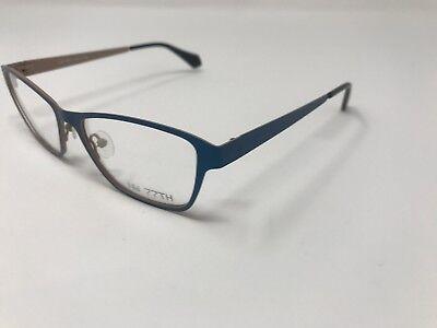 NW 77th Eyeglass Frame Lisa Col 2 51-17-140 Metallic Teal WOMENS Sleek DZ05