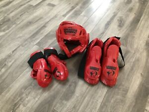 Youths Taekwondo sparring gear