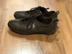 Women's Polo Ralph Lauren Shoes Brown Sneakers Size 7.5
