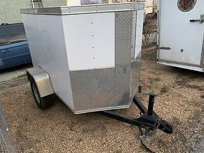 Cargo Trailer Small Cute Strong Ready To Roll