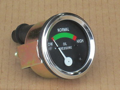 Oil Pressure Gauge For Cockshutt 20 30 40 50 550 560 570 Co-op E2 E3 E4 E5