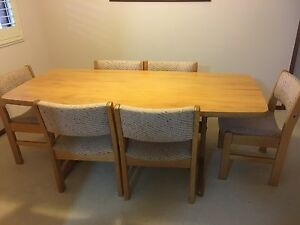 Dining table & 6 chairs Soldiers Point Port Stephens Area Preview