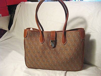 Dooney & Bourke Signature Double Long Handle Tote (Dooney And Bourke Double Long Handle Tote)