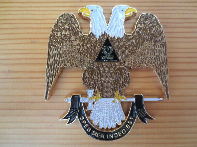 Masonic Auto Car Badge Emblems mason E35 Ancient & Accepted Scottish Rite 3D 3