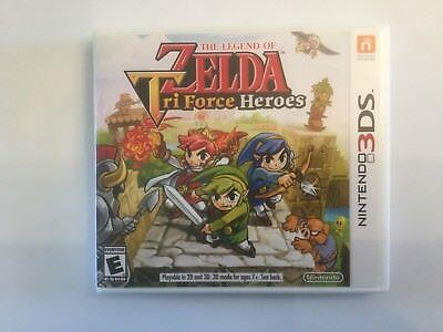 Replacement Case (NO GAME) The Legend Of Zelda Tri Force Heroes - Nintendo 3DS comprar usado  Enviando para Brazil