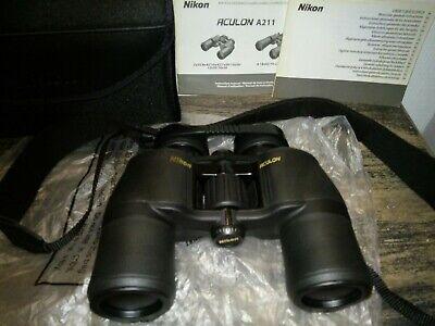 Nikon Aculon A211 10x42 Binoculars Great Condition