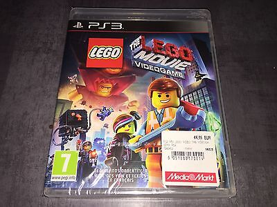 PS3 : The Lego Movie Videogame (NEUF SOUS BLISTER)