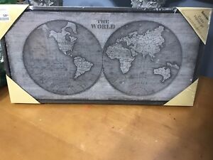 World Map pIcture New Bouclair