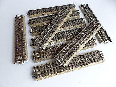 MARKLIN VOIE M RAIL CENTRAL 10 RAILS DROITS 180 MM, gebruikt tweedehands  verschepen naar Netherlands