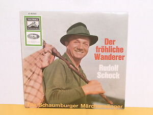 SINGLE 7&quot; - RUDOLF SCHOCK - SCHAUMBURGER MÄRCHENSÄNGER - DER FRÖHLICHE WANDERER - <span itemprop=availableAtOrFrom>Neumarkt an der Ybbs, Österreich</span> - Widerrufsbelehrung: 1. Sie haben das Recht, binnen 14 Tagen ohne Angabe von Gründen diesen Vertrag zu Wiederrufen.Die Widerrufsfrist beträgt 14 Tage ( 1 Monat ab dem Tag, an d - Neumarkt an der Ybbs, Österreich