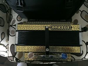 Like New -Hohner 4 Stop German made Button Accordion