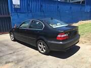 BMW 3-Series Sedan bmw 320i e46 4 door sed in black BMW 320I E46 Northmead Parramatta Area Preview
