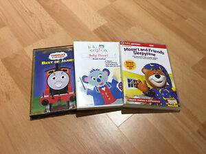 DVD For kids + Thomas Die cast