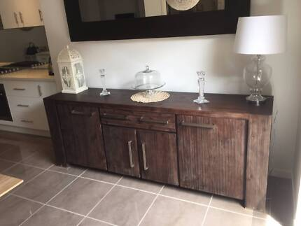 Harvey Norman Rustic Side Board RRP $ 2000 - Selling for $550