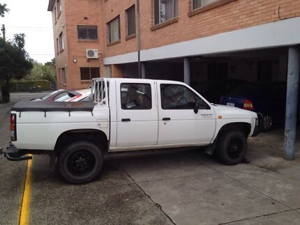 96' Nissan Navara 2.7lt desil  St Kilda Port Phillip Preview