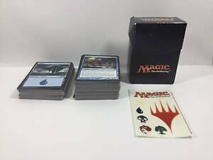 MTG Magic The Gathering Collection 150 Cards + Stickers Good Cond Southbank Melbourne City Preview