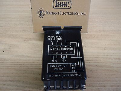 1217c-1-g-b Motion Detector Prox Switch By Issc-kanson Electronics .06-10.0 Sec
