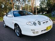 2000 Hyundai Coupe FX Sports 6Months Rego Low Kms White  Moorebank Liverpool Area Preview