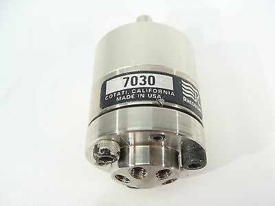 Rheodyne 7030 6-port Sample Injector Syringe Hplc Injector Valve - Valve Only