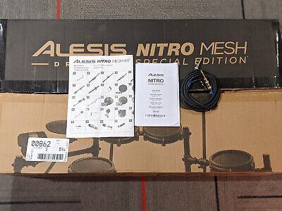 AlesisNitro Mesh 8 Piece Special Edition Electronic Drum Set
