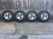Toyota hilux Holden rodeo alloy wheels and tyres 4x4 set of 4 Revesby Heights Bankstown Area Preview