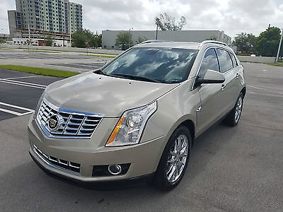 2014 Cadillac SRX PREMIUM FULLY LOADED AWD ALL WHEEL DRIVE LOW MILES BEST OFFER