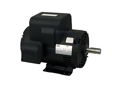 Weg 200v 208v 5hp Air Compressor Electric Motor 184t Frame 1750 Rpm 1-phase