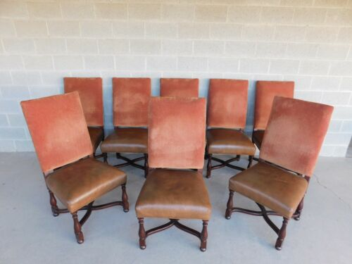 PEARSON Spanish Revival Set of 8 Dining Chairs