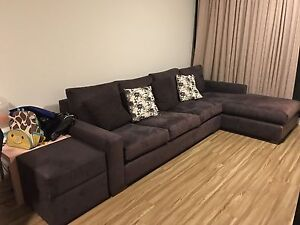 4 seater sofa with chaise Zetland Inner Sydney Preview