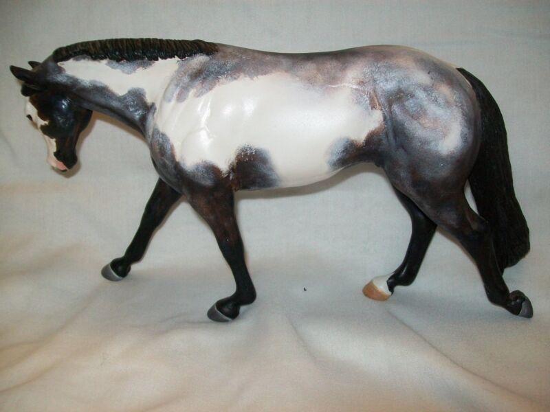 Rimfire Western Pleasure Horse Artist Resin CM custom OOAK paint pinto Figurine